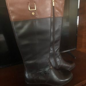 Two-toned riding boots, BRAND NEW!!!